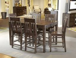 bar style dining table brilliant pub style table ideas kitchen tall kitchen table and