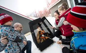 mistral outdoor fireplace drolet