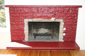 Fireplace Base Stone Remodelaholic Restoring A Painted Stone Fireplace