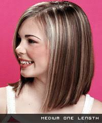 nice hairstyle for short medium hair with one hair band layered hair razor cuts and one length cuts short hair