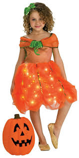 Toddler Light Up Halloween Costumes Kids Twinkle Pumpkin Princess Costume Mr Costumes