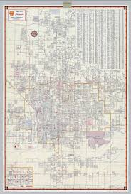 City Of Phoenix Map by Shell Street Map Of Phoenix David Rumsey Historical Map Collection