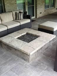 square fire pits designs columbus square fire pit paver patio u2013 columbus decks porches and