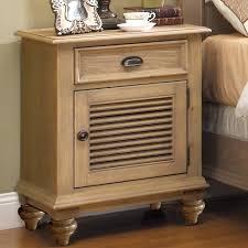 Nightstand With Shelves Shutter Door Nightstand With 1 Drawer U0026 2 Shelves By Riverside