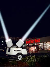 spotlight rental ta searchlights spot lights balloon rental st petersburg