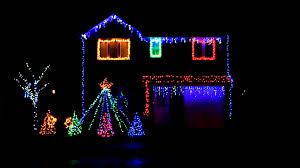 christmas light show house music christmas lights to music 2015 amazing fleur east sax light show