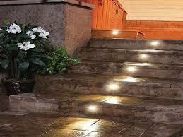 deck stair lighting radnor decoration