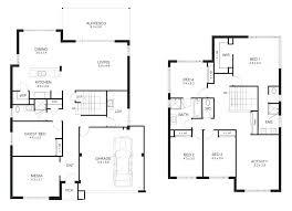 semi detached floor plans 2 bedroom farmhouse plans modern semi detached house plans single