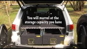 jeep camping mods jeep 4wd drawer system by rv youtube