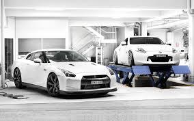 Nissan 350z Gtr - cars nissan garages nissan 370z white cars jdm japanese domestic