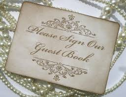 vintage wedding guest book wedding guestbook sign wedding table numbers wedding sign cards