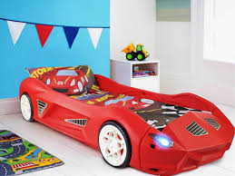 Car Bed Frames Toddler Racing Car Bed With Lights And Sounds Toyz World