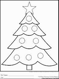 christmas tree coloring sheets for kids cheminee website