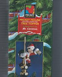 buy animated musical disney mickey mouse decorating christmas tree
