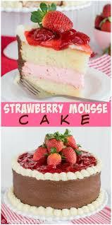 best 25 strawberry mousse cake ideas on pinterest strawberry