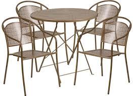Foldable Patio Furniture Steel Patio Table Jennyoctonails Com