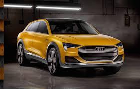 future audi audi h tron concept unveiled previews future hydrogen fuel cell