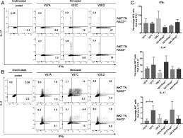 monoclonal invariant nkt inkt cell mice reveal a role for both