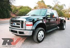 2008 ford f 450 dually road test rv magazine