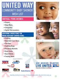 united way community baby shower u2014 get details here