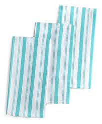martha stewart kitchen collection martha stewart collection basket weave aqua striped kitchen towels