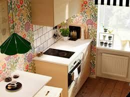 papier pour cuisine cuisine avec papier peint original ikea cuisine kitchen