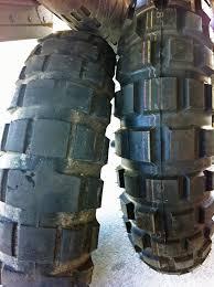 Adventure Motorcycle Tires Tire Comparo K60 Scout Vs Tkc80 Gear Reviews
