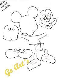 meio ligado moldes minnie e mickey mouse mickey arthur