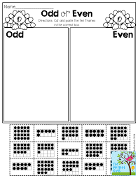 Doubles Worksheet Ks1 Even Or Odd Cut And Paste Fall Pinterest Math And