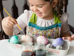 painted easter eggs paint your easter eggs with watercolor for better results