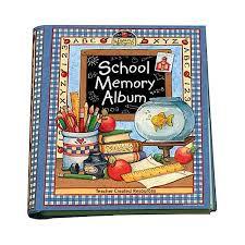 school days keepsake album school memory album a collection of special memories photos
