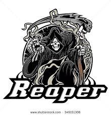 grim reaper tattoo stock images royalty free images u0026 vectors