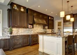different color cabinets for kitchen that the island is a different color than the cabinets