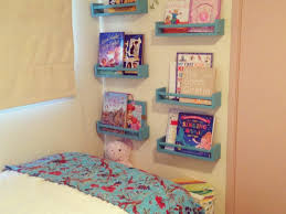 Book Shelves For Kids Room by Kids Room Beautiful Wall Mounted Bookshelves For Kids On Bed