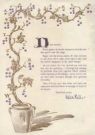 a thanksgiving message from helen keller c 1932 familyconnect