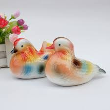 duck decorations aliexpress buy ceramic mandarin duck home decor