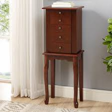 Jewelry Armoire Clearance Home Chloe Jewelry Armoire