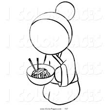 royalty free cuisine stock coloring page designs
