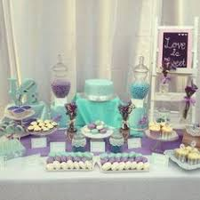 Tiffany Blue Candy Buffet by Candy Buffet Ideas Purple And Blue Party City Daydreaming