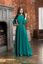 long turquoise woman dress floor autumn winter spring dress maxi