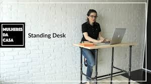 Diy Standing Desk by Diy Standing Desk Youtube