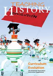 teaching history 153 supplement curriculum evolution historical