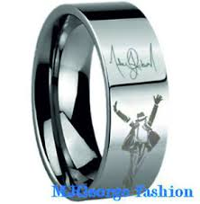 michael jackson wedding ring michael jackson ring tungsten carbide ebay