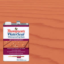 thompson u0027s waterseal 1 gal semi transparent sequoia red