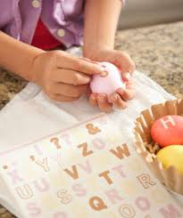 Decorating Easter Eggs With Stickers by Easter Egg Decorating Party Real Simple