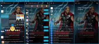 Theme Clear Social Apps Samsung Galaxy S6 Edge