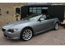 bmw 6 series for sale uk used grey bmw 6 series 2007 petrol 630i sport 2dr convertible
