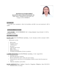 Best Resume For Sales by Resume For Sales Credit Card