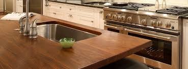 Countertop Kitchen Sink Can Undermount Sink Be Used With Wood Countertops