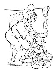 coloring pinocchio coloring pages 6
